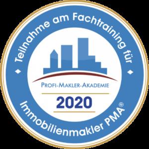 Emblem 2020 - Profi-Makler-Akademie